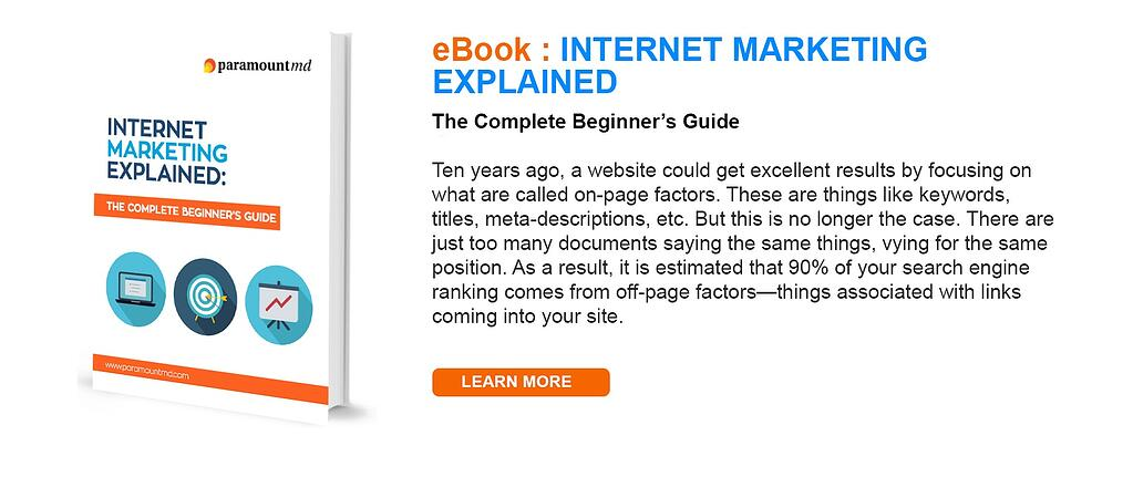 Internet Marketing Explained